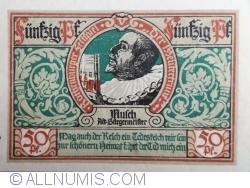 50 Pfennig 1921 - Rothenburg ob der Tauber