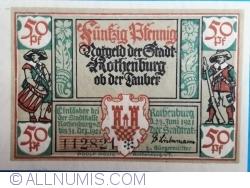 Image #1 of 50 Pfennig 1921 - Rothenburg ob der Tauber