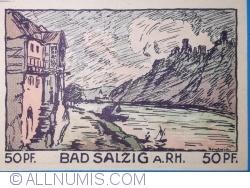 Image #2 of 50 Pfennig 1921 - Bad Salzig