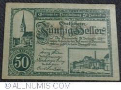 Imaginea #1 a 50 Heller 1920 - Sankt Valentin