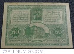 Imaginea #2 a 50 Heller 1920 - Sankt Valentin