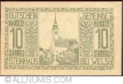 Imaginea #1 a 10 Heller 1920 - Steinhaus bei Wels