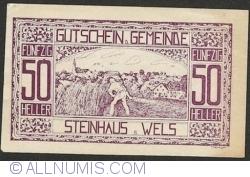 Imaginea #1 a 50 Heller 1920 - Steinhaus bei Wels