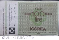Imaginea #2 a 100 Lire 1977 (15. VI.) - Roma