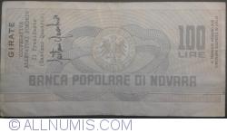 Image #2 of 100 Lire 1976 (3. XII.) - Novara