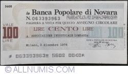 Image #1 of 100 Lire 1976 (3. XII.) - Milano