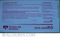 Imaginea #2 a 130 Lei 2015 - Tichet de sănătate ANIMA