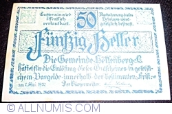 50 Heller 1920 - Helfenberg