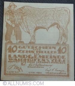 Image #1 of 10 Heller 1920 - Waidhofen an der  Ybbs