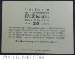 Imaginea #2 a 20 Heller ND - Waldhausen
