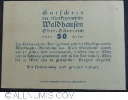 Imaginea #2 a 50 Heller ND - Waldhausen