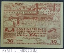 Image #1 of 30 Heller 1920 - Waidhofen an der  Ybbs