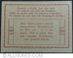 Image #2 of 30 Heller 1920 - Waidhofen an der  Ybbs