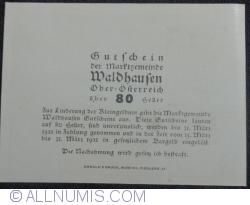 Imaginea #2 a 80 Heller ND - Waldhausen