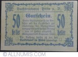 Image #1 of 50 Heller ND - Ybbs an der Donau Buchdrukerei