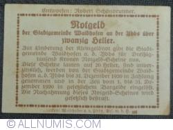 Image #2 of 20 Heller 1920 - Waidhofen an der  Ybbs