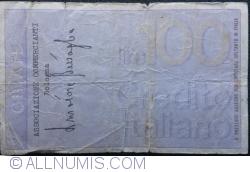 Image #2 of 100 Lire 1976 (3. IX.) - Bologna