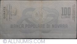 Image #2 of 100 Lire 1977 (13. I.) - Novara