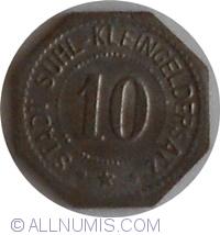 Image #1 of 10 Pfennig ND - Suhl