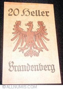 Imaginea #2 a 20 Heller ND - Brandenberg