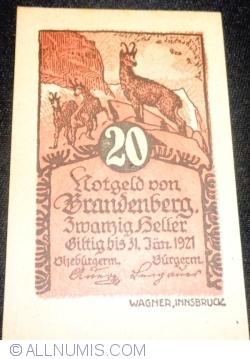 Imaginea #1 a 20 Heller ND - Brandenberg