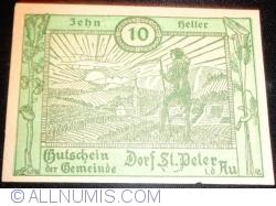 10 Heller ND - Dorf Sankt Peter in der Au