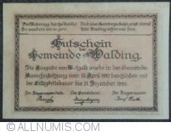 Image #2 of 50 Heller 1920 - Walding
