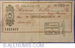 Imaginea #1 a 150 Lire 1976 (26. VII.)