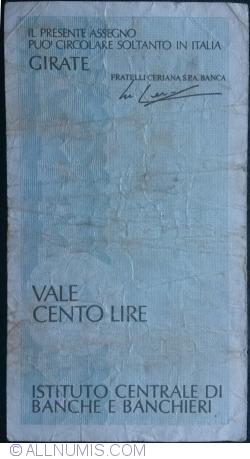 100 Lire 1977 (25. II.) - Milano