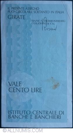 100 Lire 1977 (10. V.) - Milano