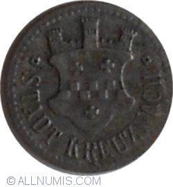 Image #2 of 10 Pfennig ND - Kreuznach