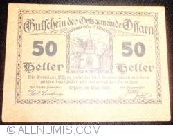 Imaginea #1 a 50 Heller 1920 - Ossarn