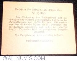 Imaginea #2 a 50 Heller 1920 - Ossarn