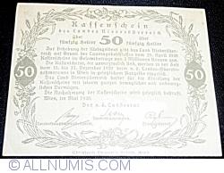 50 Heller 1920 - Lower Austria - Niederösterreich