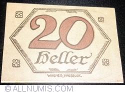 Imaginea #2 a 20 Heller ND - Brandenberg (A III-a emisune - 3. Auflage)