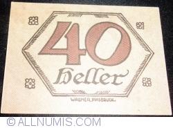 Imaginea #2 a 40 Heller ND - Brandenberg (A III-a emisune - 3. Auflage)