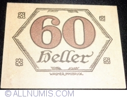 Imaginea #2 a 60 Heller ND - Brandenberg (A III-a emisune - 3. Auflage)