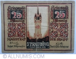 Image #1 of 25 Pfennig 1918 - Straubing
