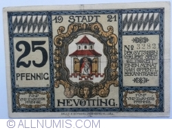 Image #1 of 25 Pfennig 1921 - Neuötting