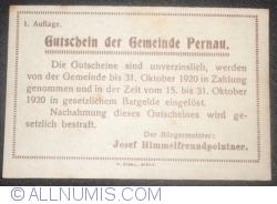 Imaginea #2 a 10 Heller ND - Pernau (Prima emisune - 1. Auflage)