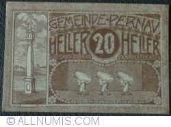 Imaginea #1 a 20 Heller ND - Pernau (Prima emisune - 1. Auflage)