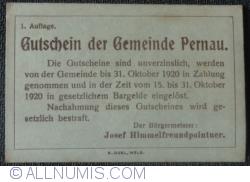 Imaginea #2 a 20 Heller ND - Pernau (Prima emisune - 1. Auflage)