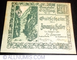Imaginea #1 a 20 Heller ND - Göstling