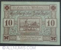 Imaginea #1 a 10 Heller 1920 - Weibern