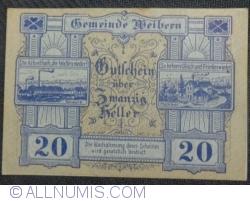 Imaginea #1 a 20 Heller 1920 - Weibern