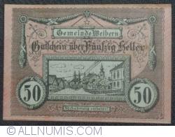 50 Heller 1920 - Weibern