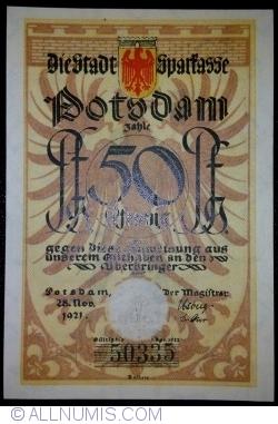 Image #1 of 50 Pfennig 1921 - Potsdam