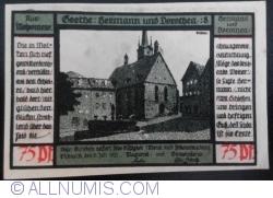 Image #1 of 75 Pfennig 1921 - Pößneck