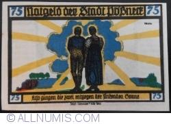 Image #2 of 75 Pfennig 1921 - Pößneck