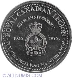 Image #2 of 1 Dollar 1976 - Saint Catharines